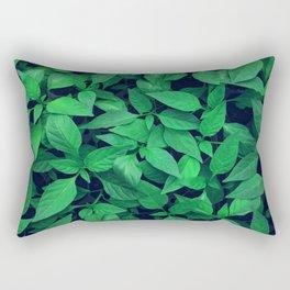 Green leafs Rectangular Pillow