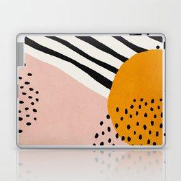 Abstract, Mid century modern art Laptop & iPad Skin