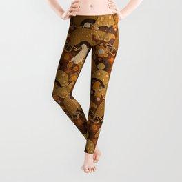 Mushroom Stitch Leggings