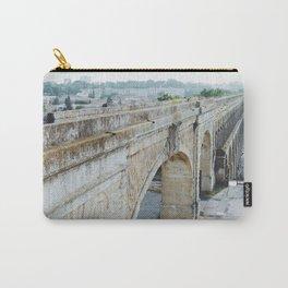 Aqueduc Saint-Clément Carry-All Pouch