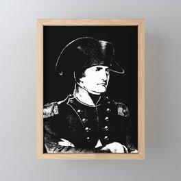 Napoleon Bonaparte Framed Mini Art Print