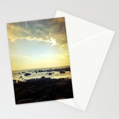 Sunset Over the Water Stationery Cards