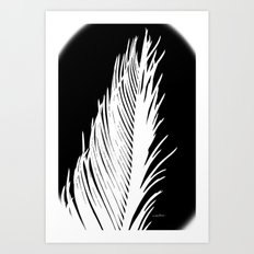 Tropic Lunar Nights Art Print