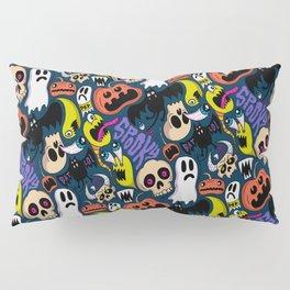 Spooky Pattern Pillow Sham