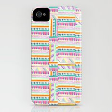 multicoloured AZTEC + Slim Case iPhone (4, 4s)