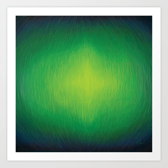 Threaded - Abstract Painting Art Print