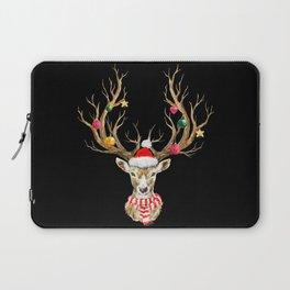 Christmas Deer 2 Laptop Sleeve