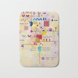 Wassily Kandinsky - Graceful ascent Bath Mat