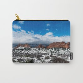 Garden of the Gods in Snow Carry-All Pouch