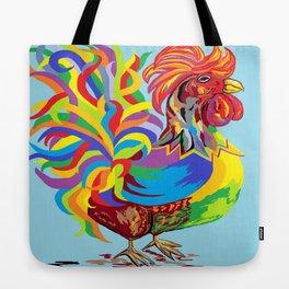 Fiesta Rooster Tote Bag