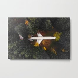 """Just a """"plane"""" house in the woods! Metal Print"""