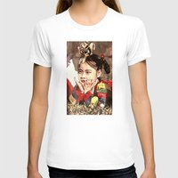 korean T-shirts featuring Korean Dancing Girls by Robert S. Lee Art