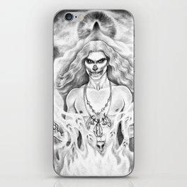 Damned Souls iPhone Skin