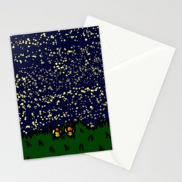 Mountaintop Duck Stargazing Date | Veronica Nagorny  Stationery Cards