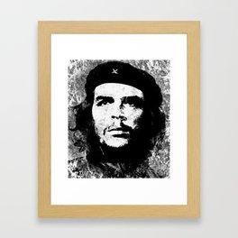 CHE GUEVARA (BLACK & WHITE VERSION) Framed Art Print