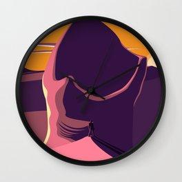 Dune Design Wall Clock