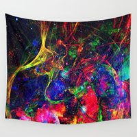 big bang Wall Tapestries featuring Big Bang by haroulita
