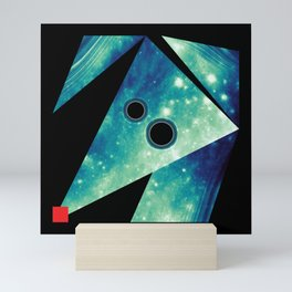 Dog Exploring Space Mini Art Print