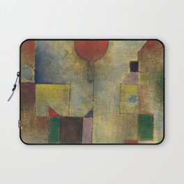 Red Balloon by Paul Klee Laptop Sleeve