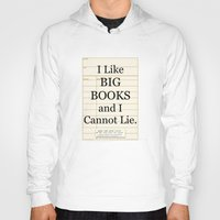 gift card Hoodies featuring Library Card / Book Lovers Gift / I Like Big Books and I cannot Lie by MY  HOME