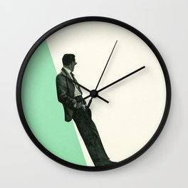 Cool As A Cucumber Wall Clock