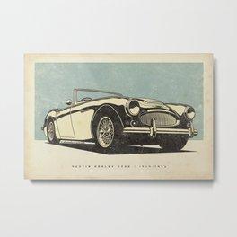 Austin Healey 3000 Metal Print