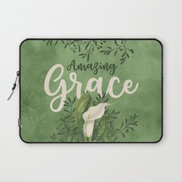 Amazing Grace (green) Laptop Sleeve
