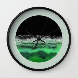 Emerald Decay Wall Clock