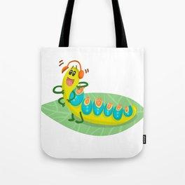 Poisonous Caterpillars Tote Bag