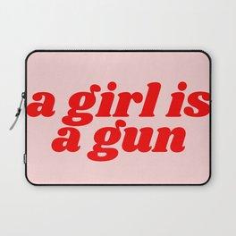 a girl is a gun Laptop Sleeve