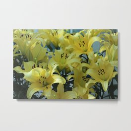 Spring Is Alive Metal Print