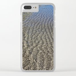 Passing Through Perfect Clear iPhone Case