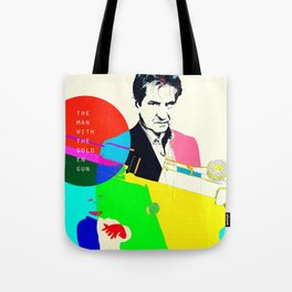The Man With The Golden Gun Tote Bag