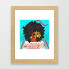 SUMMER BEAUTY Framed Art Print