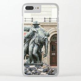 War Memorial Clear iPhone Case