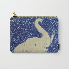 Elephant Doodle # 2 Carry-All Pouch