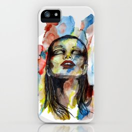 """""""Mirabelle"""" by carographic iPhone Case"""