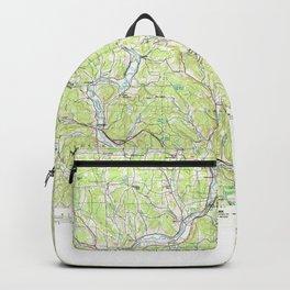 NY Binghamton 137110 1985 topographic map Backpack