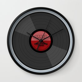 Vinyl Record LP Wall Clock