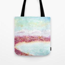 Paradise Watercolor Art Illustration. Tote Bag