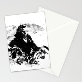 Beethoven Motorcycle Stationery Cards