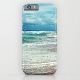 Emerald Ocean, Sapphire Sky, Alabaster Surf iPhone Case