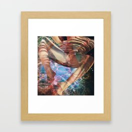 I Touch Myself Framed Art Print