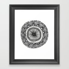 Mandala 1 Framed Art Print