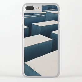 Abstract Berlin Memorial Photograph Clear iPhone Case