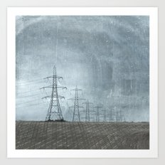 March of the Pylons Art Print