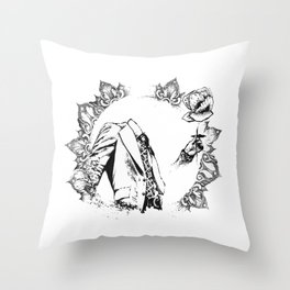 The Headless Bruce - MiguelRC Throw Pillow