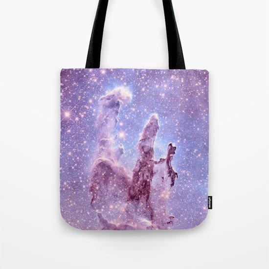 Subtle Space : Pillars of Creation Nebula Tote Bag