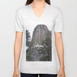 Devil's Tower National Park Unisex V-Neck