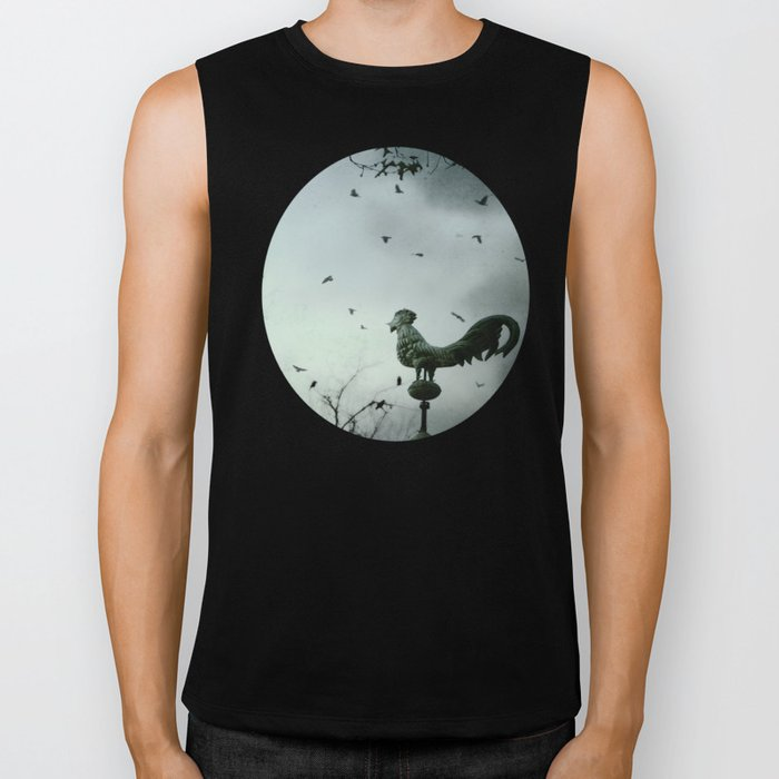 The Rooster's Call Biker Tank